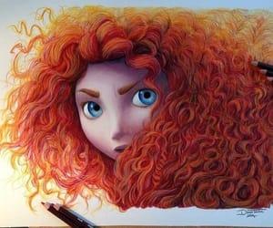 brave, disney, and disney princess image