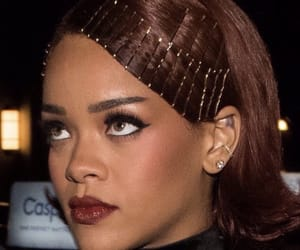 rihanna, beauty, and hair image