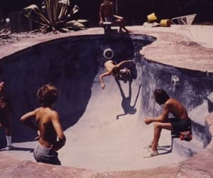 skate, boys, and pool image