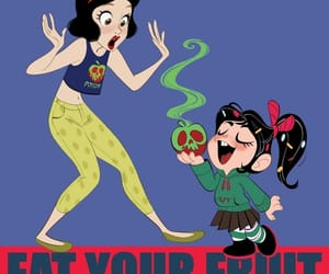 disney, snow white, and wreck it ralph image