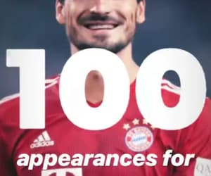 100, football, and appearances image