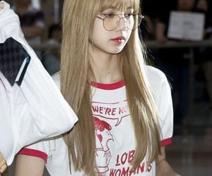 aesthetic, specs, and blackpink image