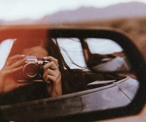 car, girl, and photography image
