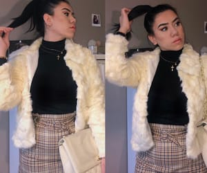 casual, chanel, and fur image