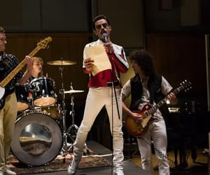 Freddie Mercury, iconic, and rock image