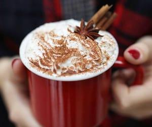 christmas, seasons, and hot coco image