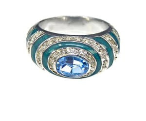 silver ring, etsy, and vintage jewelry image