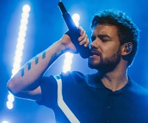 liam payne, one direction, and blue image