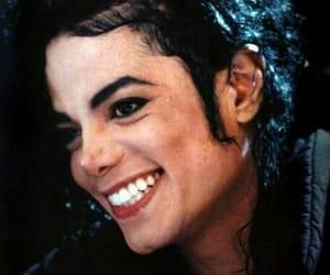 michael jackson, smile, and king image