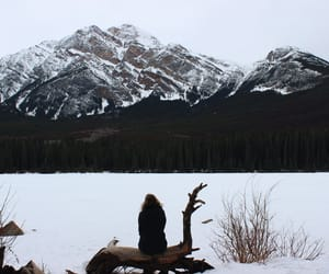 canada, frozen, and travel image