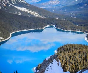 awesome, impressive, and lake image