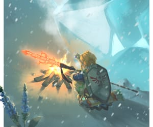 link, the legend of zelda, and breath of the wild image