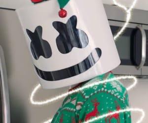 christmas, marshmello, and mello image