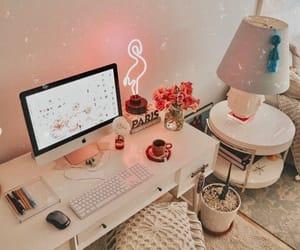 aesthetic, neon, and study image