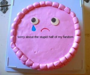 fandom and cake image