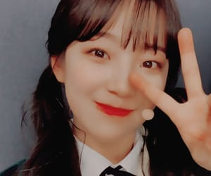 jiheon, fromis 9, and jiheon icons image