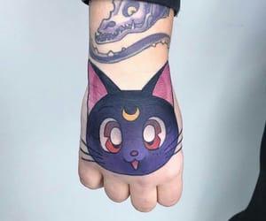 anime, tattoo, and fashion image