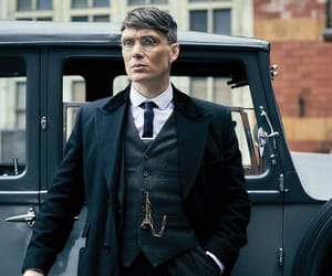 peaky blinders, tommy shelby, and cillian murphy image