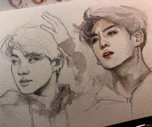 art, fanart, and kim seokjin image