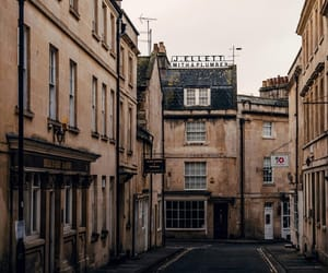 architecture, bath, and brown image