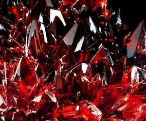red, crystal, and ruby image