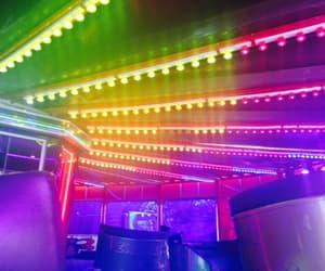 neon and rainbow image