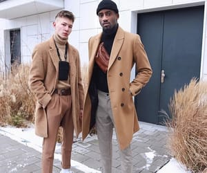 brown, gucci, and man image