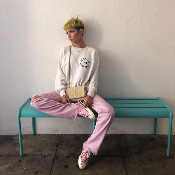 moda, halsey, and how to look like image