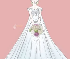 elsa frozen wedding dress image
