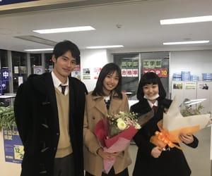 岡田健史 and 小野莉奈 image