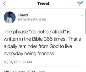 be brave, bible, and god image