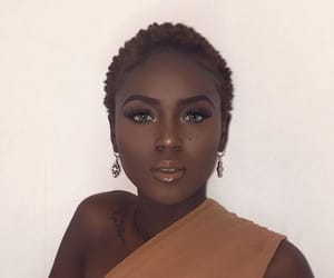 black beauty, black girl, and black women image
