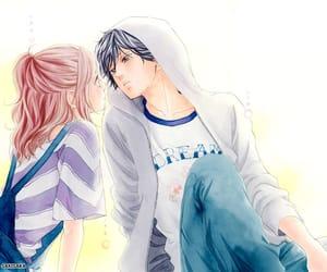 anime, blue spring, and manga image