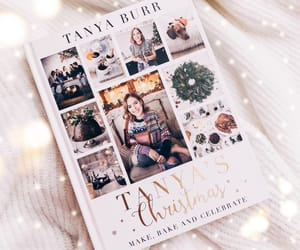 baking, baking book, and tanya's christmas image