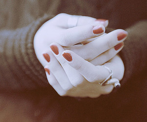 bokeh, girl, and hands image