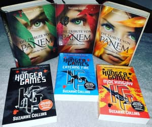 books, katniss everdeen, and tribute von panem image