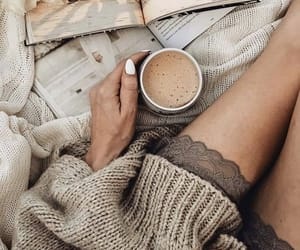 cozy, coffee, and sweater image