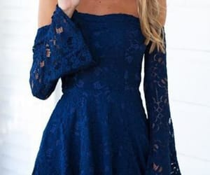 blue prom dresses, prom dresses short, and a-line homecoming dresses image