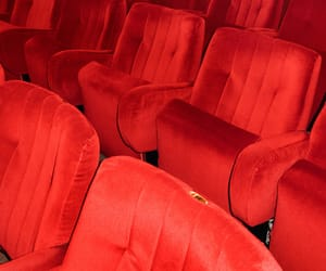 cinema, movies, and red image