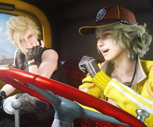 final fantasy xv, final fantasy, and prompto argentum image
