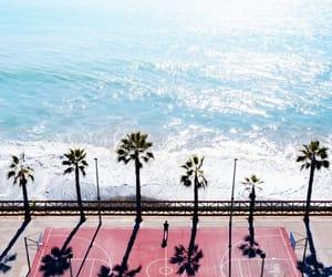 mar, praia, and azul image