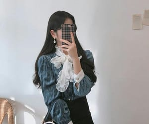 asian fashion, clothes, and korean style image