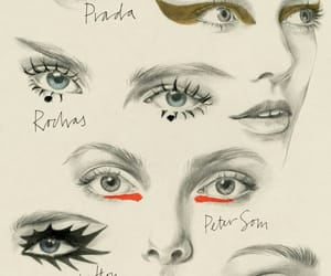 fashion, art, and makeup image