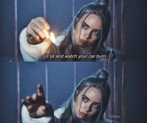 billie eilish, quotes, and aesthetic image
