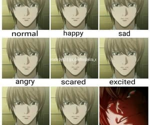 death note, kira, and anime image