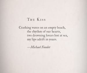 aesthetic, kiss, and quotes image