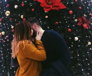 babe, christmas, and christmas tree image