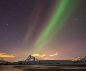 aurora boreal, belleza, and paisaje image
