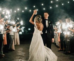 couple, happiness, and wedding image