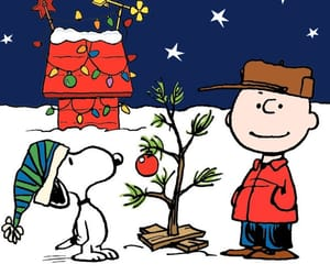 snoopy, wallpaper, and christmas image